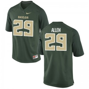 Chad Allen University of Miami College For Men Game Jerseys - Green