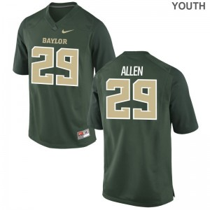 Chad Allen Hurricanes High School Youth(Kids) Limited Jerseys - Green