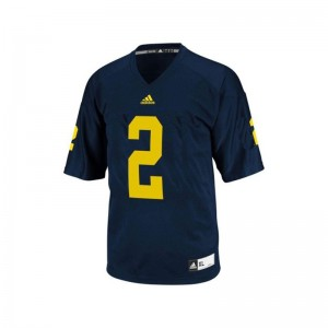 Charles Woodson Michigan NCAA Men Game Jersey - Blue
