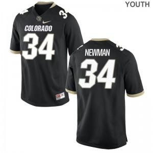 Chase Newman Buffaloes Alumni Kids Limited Jersey - Black