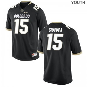 Chris Graham UC Colorado NCAA Kids Limited Jersey - Black