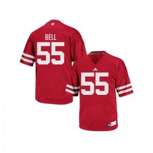 Christian Bell Wisconsin Badgers Alumni For Men Replica Jerseys - Red