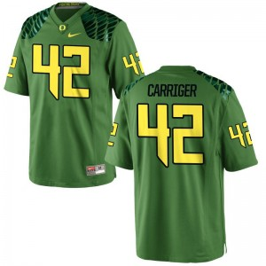 Cody Carriger Ducks Player Mens Limited Jersey - Apple Green