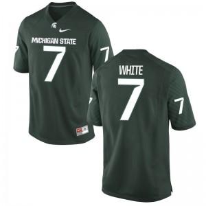 Cody White Michigan State University Football Men Game Jersey - Green