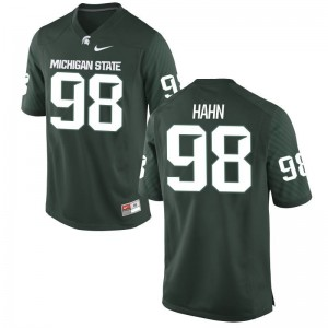 Cole Hahn Spartans Player For Men Game Jersey - Green