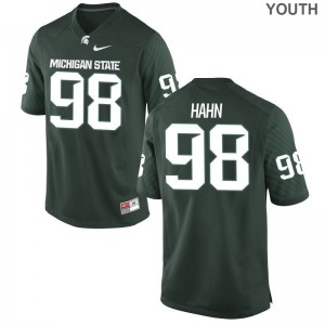 Cole Hahn Michigan State University NCAA Youth Game Jerseys - Green