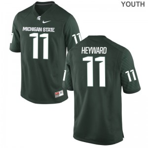 Connor Heyward Spartans Football Youth(Kids) Game Jersey - Green