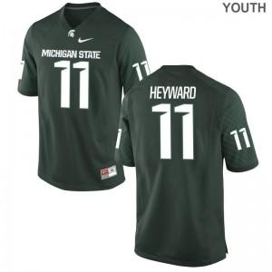 Connor Heyward Michigan State University Kids Limited Jersey - Green