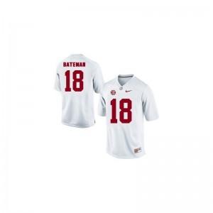 Cooper Bateman Alabama University Kids Limited Jerseys - White