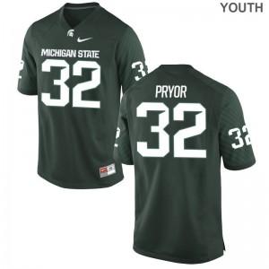 Corey Pryor MSU High School Youth(Kids) Game Jerseys - Green