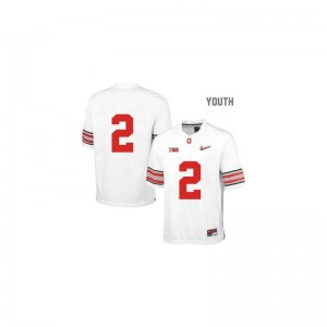 Cris Carter Ohio State Buckeyes NCAA For Kids Limited Jersey - White Diamond Quest Patch