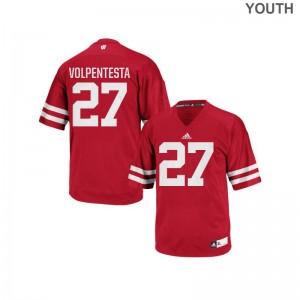 Cristian Volpentesta UW High School Kids Replica Jerseys - Red