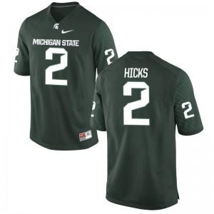 Darian Hicks MSU University Youth(Kids) Game Jerseys - Green