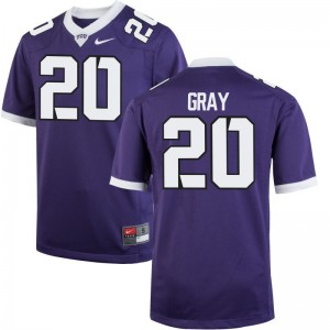 Deante Gray Texas Christian University Football Youth Limited Jerseys - Purple