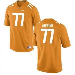 Devante Brooks Vols College Mens Game Jersey - Orange