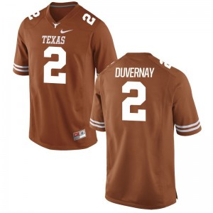 Devin Duvernay UT High School Mens Game Jersey - Orange