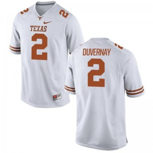 Devin Duvernay Texas Longhorns Official Men Game Jerseys - White
