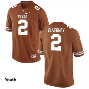 Devin Duvernay Longhorns Player Youth Game Jersey - Orange