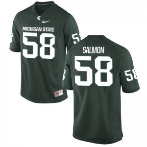 Devyn Salmon Michigan State Spartans Player Mens Game Jersey - Green