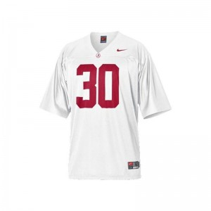 Dont'a Hightower University of Alabama College Youth Limited Jersey - White