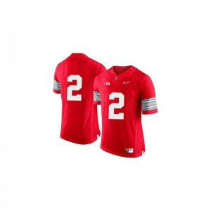Dontre Wilson Ohio State University Mens Game Jersey - Red Diamond Quest Patch