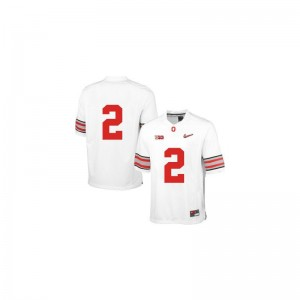 Dontre Wilson OSU Buckeyes NCAA Kids Game Jerseys - White Diamond Quest Patch
