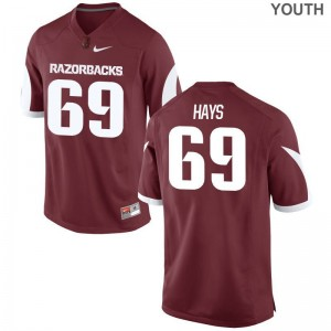 Dylan Hays University of Arkansas Official For Kids Limited Jerseys - Cardinal