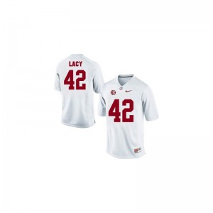 Eddie Lacy Bama Player Mens Game Jerseys - White