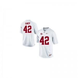 Eddie Lacy University of Alabama University Men Limited Jerseys - White