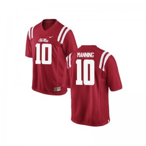 Eli Manning Ole Miss Player Kids Game Jerseys - Red