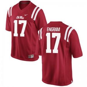 Evan Engram University of Mississippi Alumni For Men Limited Jersey - Red