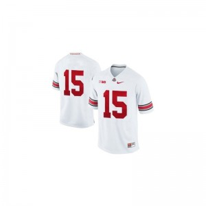 Ezekiel Elliott OSU Official Mens Game Jersey - White