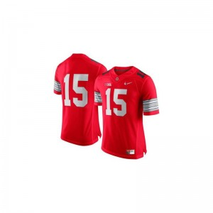 Ezekiel Elliott Ohio State High School Youth Game Jersey - Red Diamond Quest Patch