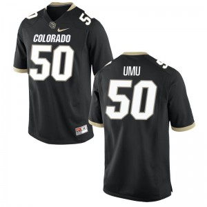 Frank Umu UC Colorado Official Men Limited Jersey - Black