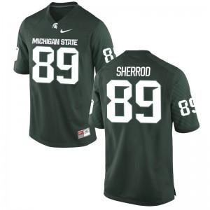 Gabe Sherrod Michigan State Spartans University Kids Game Jersey - Green