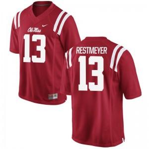 Grant Restmeyer Ole Miss Rebels Alumni Mens Limited Jerseys - Red