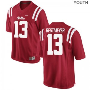 Grant Restmeyer Ole Miss Rebels Alumni Youth Game Jerseys - Red
