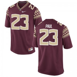 Herbans Paul Seminoles Official For Kids Limited Jersey - Garnet