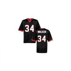 Herschel Walker UGA Player Mens Game Jersey - Black