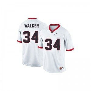 Herschel Walker Georgia Bulldogs College Kids Game Jersey - White