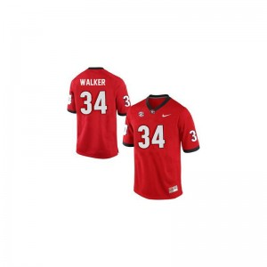 Herschel Walker Georgia Bulldogs Player Youth Limited Jerseys - Red