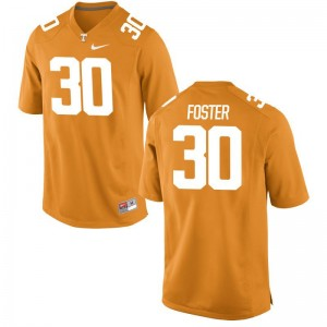 Holden Foster Tennessee Vols College For Men Game Jersey - Orange