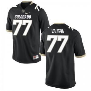 Hunter Vaughn University of Colorado University For Men Limited Jersey - Black