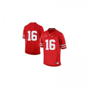 J.T. Barrett Ohio State Player For Men Limited Jerseys - Red