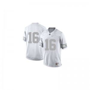 J.T. Barrett Ohio State Buckeyes Player Youth Limited Jerseys - Platinum