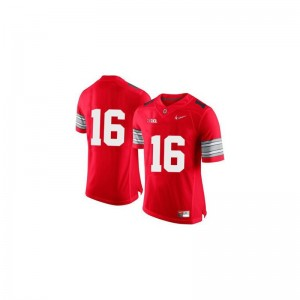 J.T. Barrett Ohio State Football Youth Limited Jerseys - Red Diamond Quest Patch