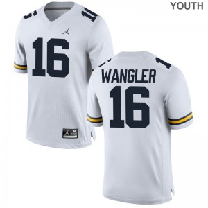 Jack Wangler Michigan Football Youth(Kids) Game Jerseys - Jordan White