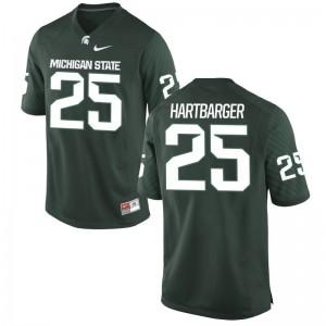 Jake Hartbarger Michigan State University Player Mens Game Jersey - Green