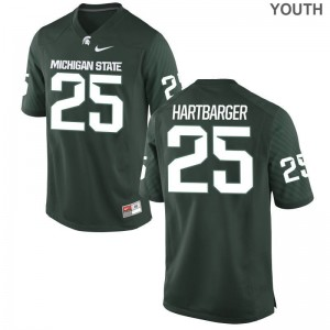Jake Hartbarger Michigan State University Official Youth(Kids) Limited Jersey - Green