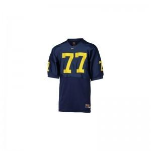 Jake Long Michigan Player Men Limited Jerseys - Blue